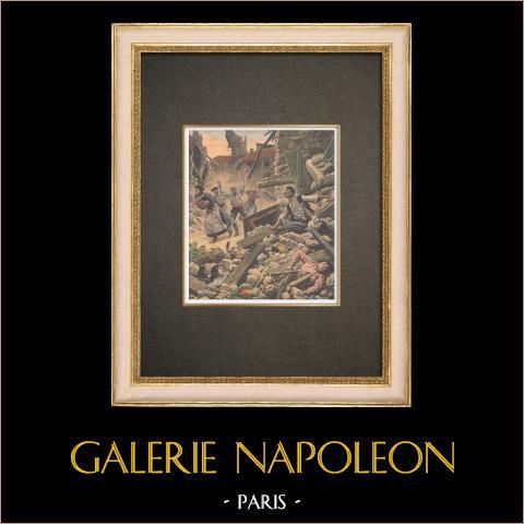 Trzęsienie Ziemi na Południu Francji - 1909 |