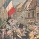 DETALJER 02 | Den franska flaggan flyger i Alsace på Molsheim - Frankrike - 1909