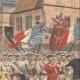 DETALJER 04 | Den franska flaggan flyger i Alsace på Molsheim - Frankrike - 1909