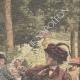 DETTAGLI 03 | Un pazzo spara a una ragazza nel Jardin du Luxembourg a Parigi - Francia - 1909