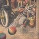 DETTAGLI 06 | Le auto delle ufficio postale seminano terrore a Parigi - Francia - 1909