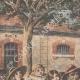 DETTAGLI 01 | Arrivo dei riservisti alla caserma Dode a Grenoble - Francia - 1909