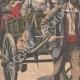 DETTAGLI 02 | Arrivo dei riservisti alla caserma Dode a Grenoble - Francia - 1909