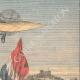 DETTAGLI 03   Louis Blériot attraversa la Manica e atterra a Dover - Inghilterra - 1909
