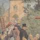 DETAILS 01 | Bildeston firemen' wedding procession - England - 1909