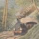 DETTAGLI 01 | Un postino legato e lasciato su una ferrovia da ladri a Villeneuve-lès-Avignon - Francia - 1909