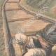 DETTAGLI 02 | Un postino legato e lasciato su una ferrovia da ladri a Villeneuve-lès-Avignon - Francia - 1909