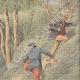 DETTAGLI 03 | Un postino legato e lasciato su una ferrovia da ladri a Villeneuve-lès-Avignon - Francia - 1909