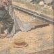 DETTAGLI 06 | Un postino legato e lasciato su una ferrovia da ladri a Villeneuve-lès-Avignon - Francia - 1909