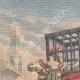 DETTAGLI 01 | Rogui prigioniero arriva in gabbia al palazzo del sultano Moulay Hafid a Fes - Marocco - 1909