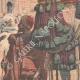DETTAGLI 02 | Rogui prigioniero arriva in gabbia al palazzo del sultano Moulay Hafid a Fes - Marocco - 1909