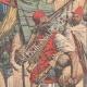 DETTAGLI 04 | Rogui prigioniero arriva in gabbia al palazzo del sultano Moulay Hafid a Fes - Marocco - 1909