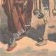 DETTAGLI 05 | Rogui prigioniero arriva in gabbia al palazzo del sultano Moulay Hafid a Fes - Marocco - 1909