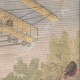 DETAILS 03 | Sommer airplane flies over a military parade in the East of France - 1909