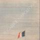 DETTAGLI 03   Volo di un aereo sopra Parigi - Francia - 1909