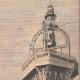 DETTAGLI 04   Volo di un aereo sopra Parigi - Francia - 1909