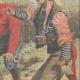 DETTAGLI 04   Due ubriaconi coprono un ragazzo col formice in Eymoutiers - Francia - 1909