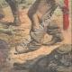 DETTAGLI 06   Due ubriaconi coprono un ragazzo col formice in Eymoutiers - Francia - 1909