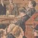 DÉTAILS 02 | Verdict du procès de Marguerite Steinheil au Palais de justice de Paris - France - 1909