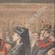 DÉTAILS 03 | Verdict du procès de Marguerite Steinheil au Palais de justice de Paris - France - 1909
