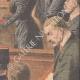 DÉTAILS 04 | Verdict du procès de Marguerite Steinheil au Palais de justice de Paris - France - 1909