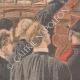 DÉTAILS 05 | Verdict du procès de Marguerite Steinheil au Palais de justice de Paris - France - 1909