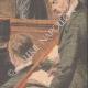 DÉTAILS 06 | Verdict du procès de Marguerite Steinheil au Palais de justice de Paris - France - 1909