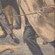 DETTAGLI 06 | Arresto dell'assassino del generale Verand a Parigi - Francia - 1909