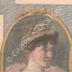 DETTAGLI 01 | Ritratto di Alberto I re del Belgio e sua moglie Elisabetta di Baviera