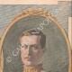 DETTAGLI 03 | Ritratto di Alberto I re del Belgio e sua moglie Elisabetta di Baviera