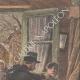 DETTAGLI 03   Inondazioni di Parigi - I ladri saccheggiano case abbandonate - 1910