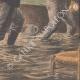 DETTAGLI 06   Inondazioni di Parigi - I ladri saccheggiano case abbandonate - 1910
