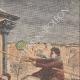 DETTAGLI 03 | Inondazioni di Parigi - Soccorso da un paralitico - 1910