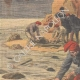 DETAILS 02 | Shipwreck of General Chanzy - Corpses and wrecks - Spain - 1910