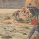 DETTAGLI 02 | Naufragio del Transatlantico General Chanzy - Cadaveri e relitti - Spagna - 1910