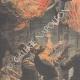 DÉTAILS 02 | Une femme saute par la fenêtre pour fuir un incendie à Lille - France - 1910
