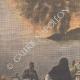DETALJER 01 | Vulkanutbrott av Etna - Sicilien - Italien - 1910