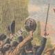 DETALJER 01 | Demonstration på järnvägen i Villeneuve-le-Roi - Frankrike - 1910