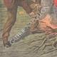 DETALJER 05 | En ung flicka torterades och brändes i Tolla - Korsika - Frankrike - 1910
