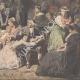 DETALJER 08   Appel des dernières victimes de la Terreur - Målning - Charles Muller - 1850
