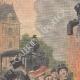 DETTAGLI 01 | I becchini bruciano il suo costume davanti al Municipio di Parigi - Francia - 1910