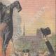 DETTAGLI 03 | I becchini bruciano il suo costume davanti al Municipio di Parigi - Francia - 1910
