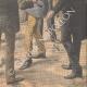DETTAGLI 06 | I becchini bruciano il suo costume davanti al Municipio di Parigi - Francia - 1910