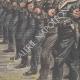 DETTAGLI 04 | Festa nazionale francese - Rivista militare degli Fusiliers marins - Parigi - 1910