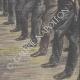 DETTAGLI 06 | Festa nazionale francese - Rivista militare degli Fusiliers marins - Parigi - 1910
