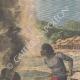 DETTAGLI 01 | Naufragio nelle rapide del Mekong - Laos - 1910