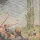 DETALJER 03 | Två flackander kastar ett barn i Orne - Frankrike - 1910