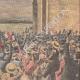 DETALJER 04   Ankomsten av vinnaren av ett flygkapplöpning i Issy-les-Moulineaux - Frankrike - 1910