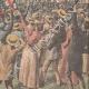 DETALJER 06 | Ankomsten av vinnaren av ett flygkapplöpning i Issy-les-Moulineaux - Frankrike - 1910