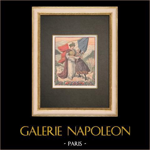Herdenking van de Annexatie van Savooiekool in Frankrijk - 1910 |